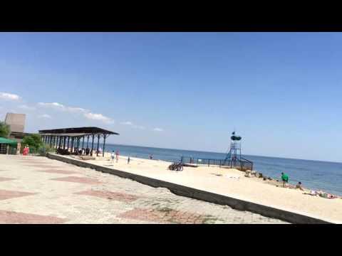 Пляж санатория Бердянск