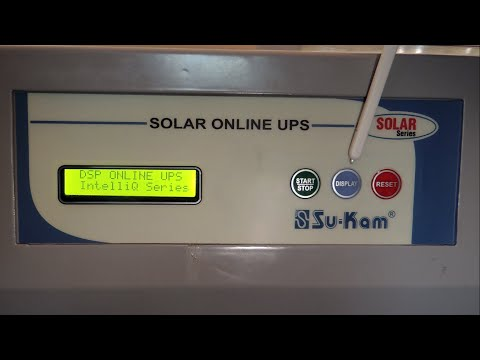 What is a Solar Online UPS? How does it work?