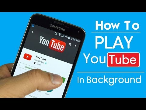 How to play YouTube in background without any app!