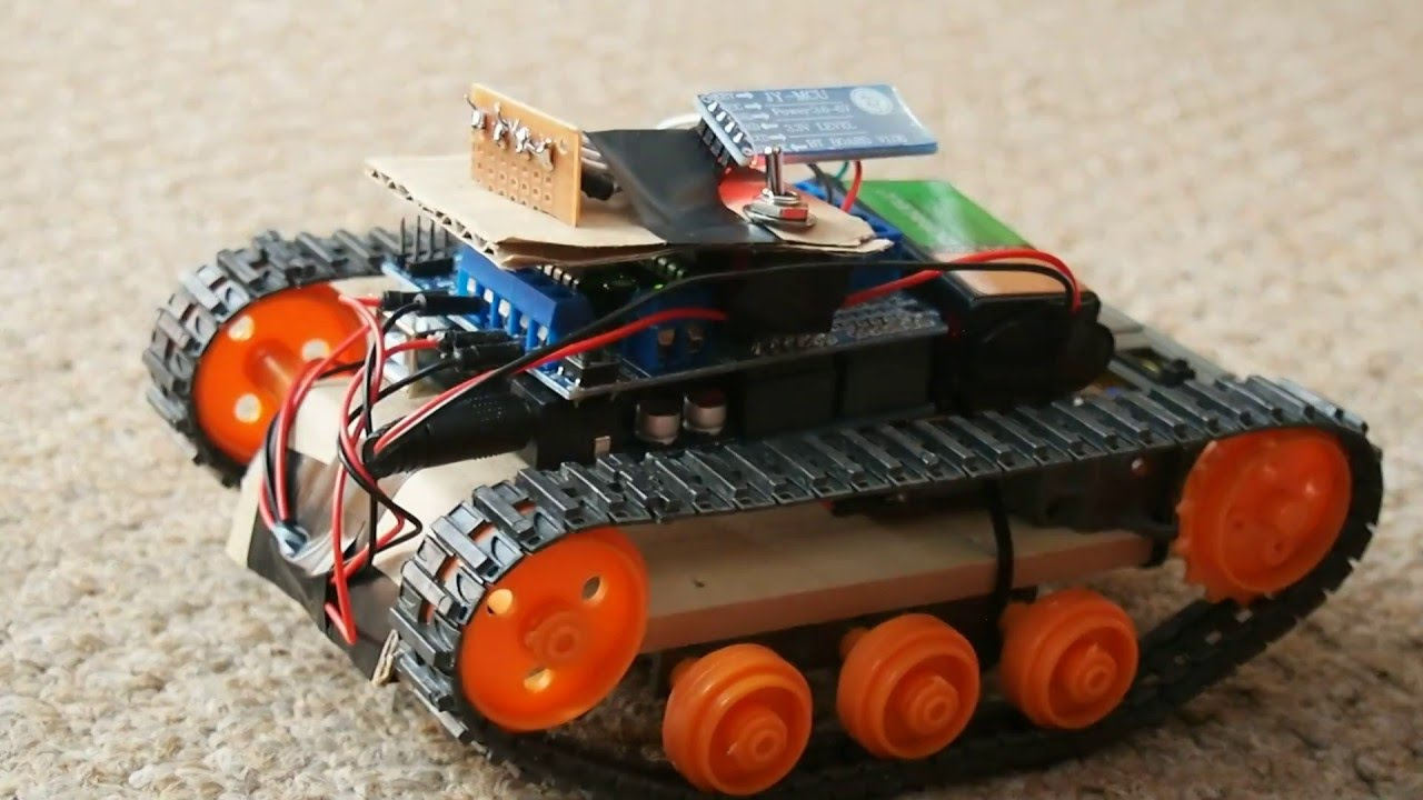 How To Make Arduino Bluetooth Tank with Custom Android Application