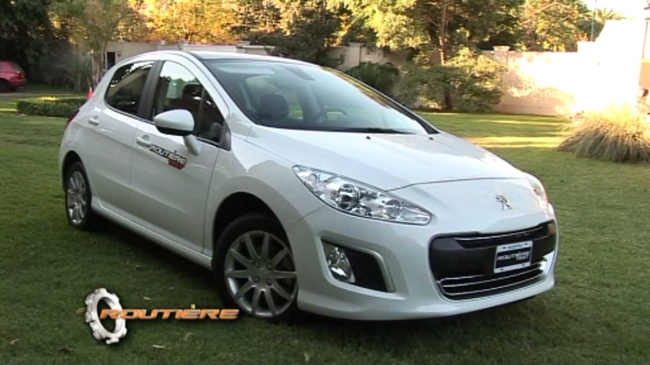 peugeot 308 allure plus test routi re pgm 165 youtube. Black Bedroom Furniture Sets. Home Design Ideas