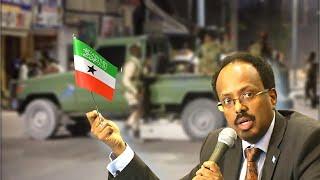 Farmaajo Cunsuradeeyey Xuska 18 May Xili Muqdisho Calanka Somaliland Laga Dhex Taagay