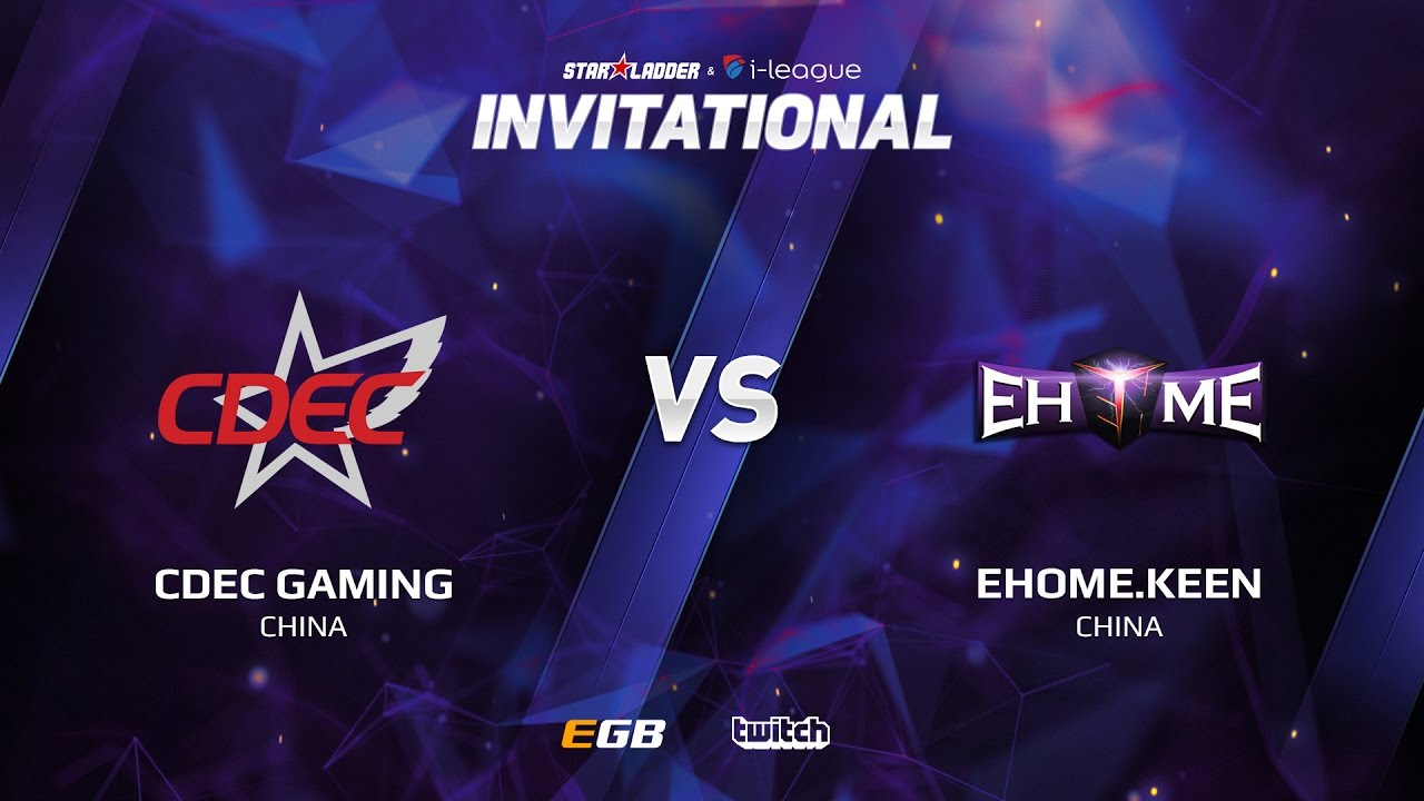 CDEC Gaming vs EHOME.Keen, Game 2, SL i-League Invitational S2, CN Qualifier