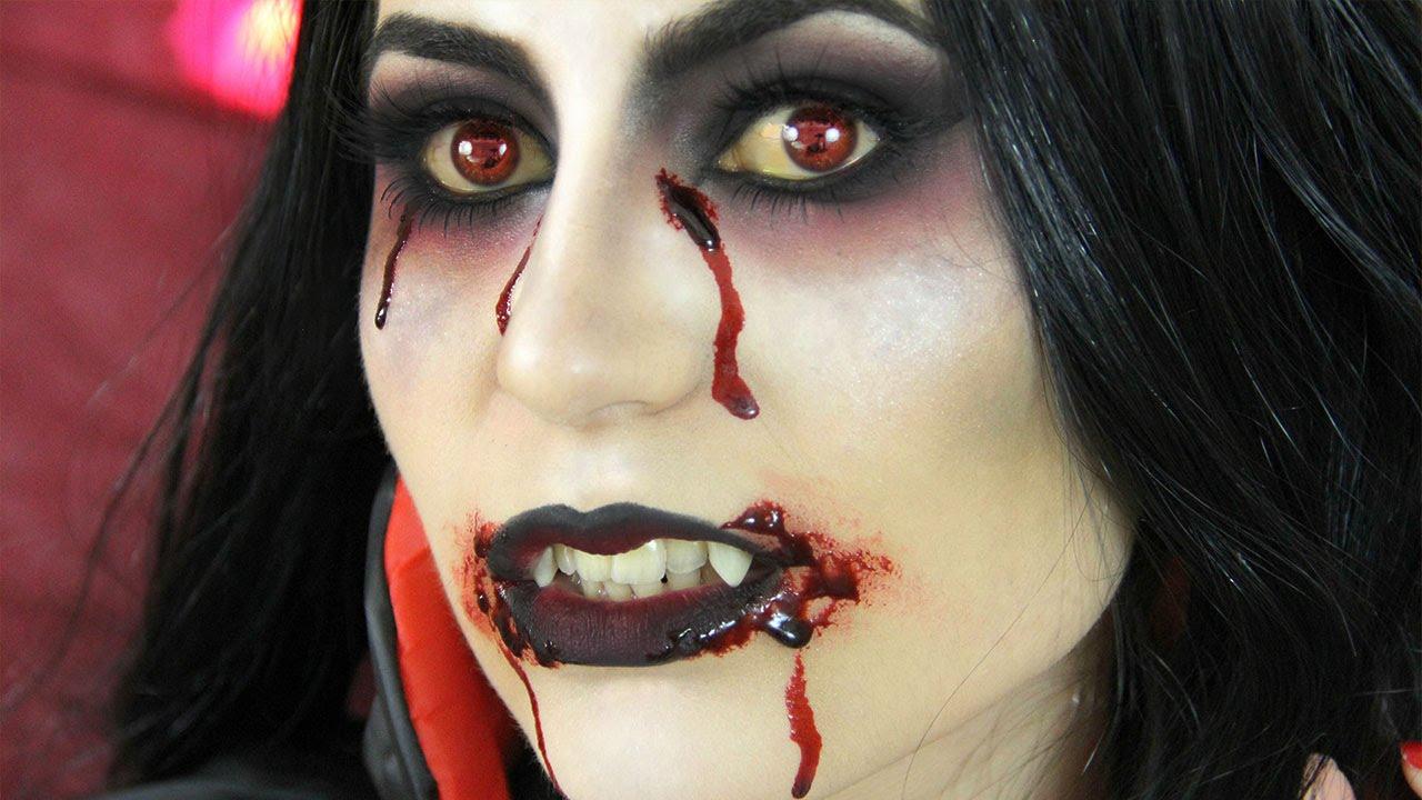 vampire makeup tutorial elle levi youtube
