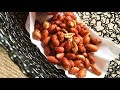 TOASTED CHILI PEANUTS - TOASTED CHILI NUTS - PEANUTS RECIPE - MOONGPHALI RECIPE - HAMS KITCHEN