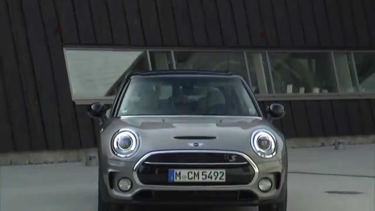 The New Mini Cooper S Clubman Melting Silver Exterior Design