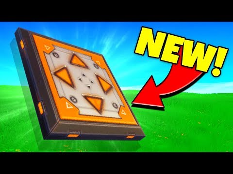 NEW *DIRECTIONAL JUMP PAD* COMING BACK TO FORTNITE! (Fortnite Battle Royale)