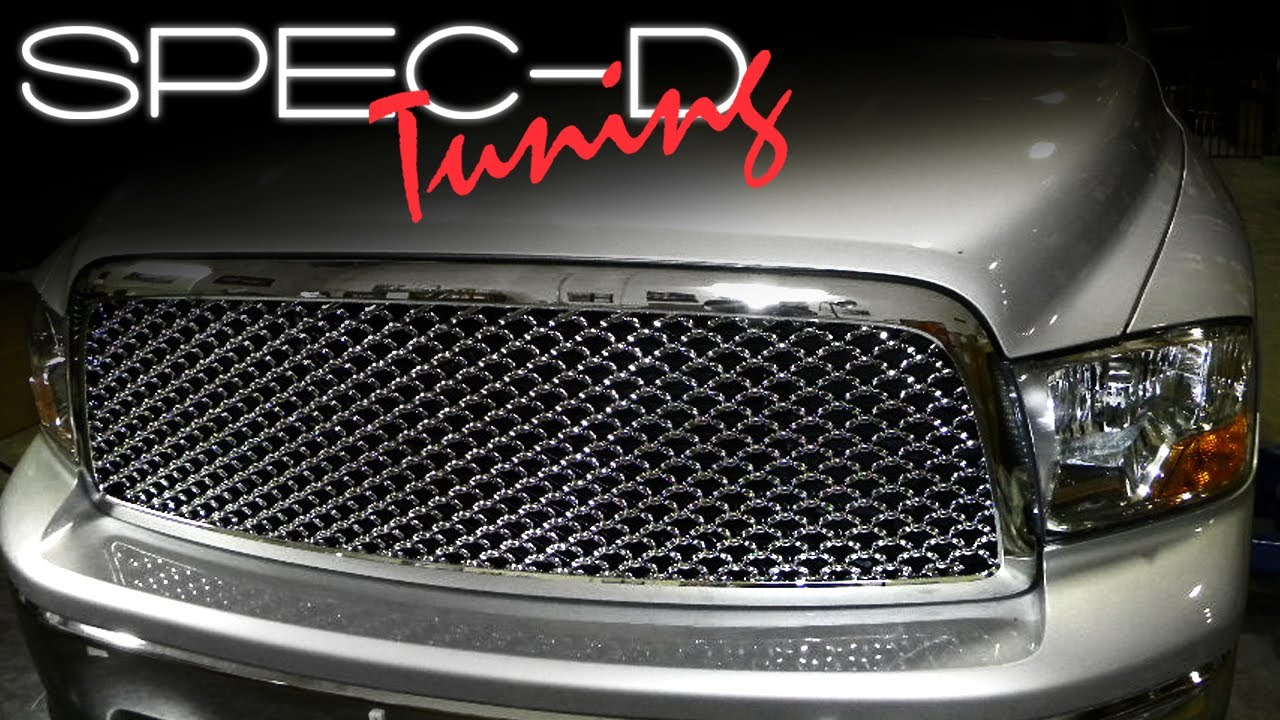 Specdtuning Installation Video 2009 Up Dodge Ram 1500