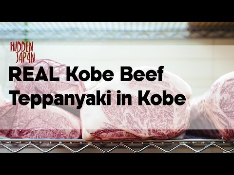 The Best Way to Eat REAL Kobe Beef in Japan | Hidden Japan | Japan Video Travel Guide