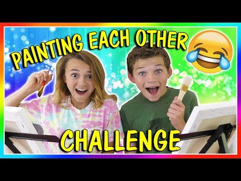 PAINT EACH OTHER CHALLENGE   We Are The Davises