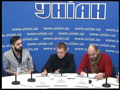 Прес конференція, присвячена першому в Україні Фестивалю зимових розваг Kiev Ice Portal