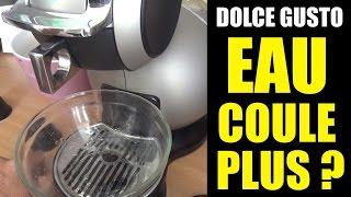 dolce gusto eau ne coule plus lentement (machine à café melody piccolo circolo genio mini nescafé)