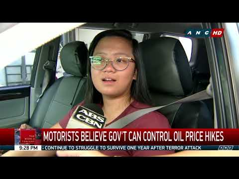 The World Tonight: Gov't can't stop retail fuel prices from going up -DOE