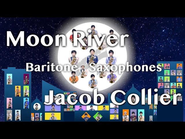 Jacob Collier - Moon River [Baritone Saxophones]