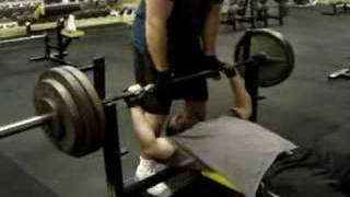 Sharp 305 bench press