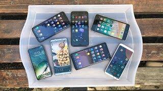 Yenilmezler: 2017'nin En Baba ve Pahalı 7 Telefonu Elimizde! (Senin Birincin Hangisi?)