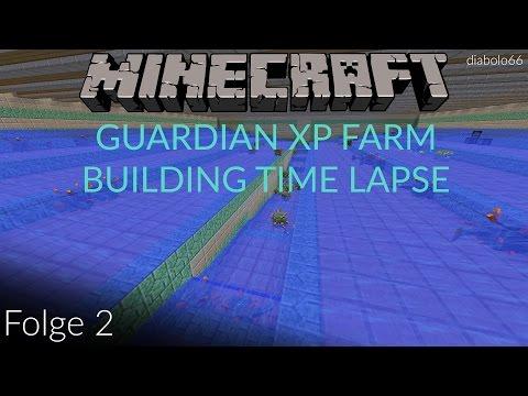 [OLD/GERMAN] 1.9 Survival WÄCHTER XP Farm BAU ZEITRAFFER des Todes - Minecraft Vanilla SMP - Folge 2