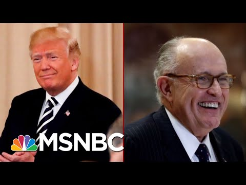 'Even If He Did Do It': Rudy Giuliani's New New Line About Trump Tower Moscow | Deadline | MSNBC