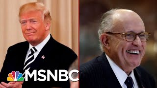 'Even If He Did Do It\': Rudy Giuliani's New New Line About Trump Tower Moscow | Deadline | MSNBC