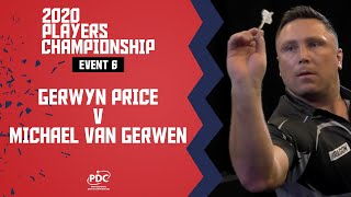 WHAT A FINAL! | Van Gerwen v Price | Players Championship 6 Final