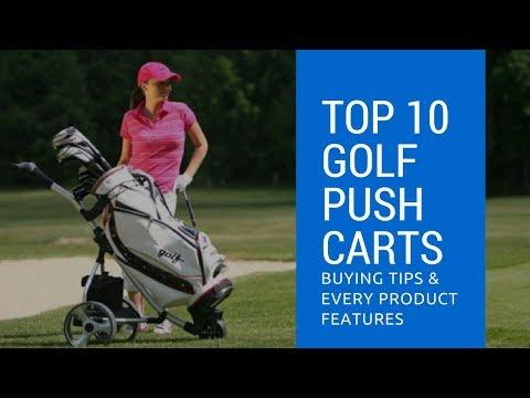 Golf Push Carts: Top 10 Best Golf Cart Reviews 2017-2018