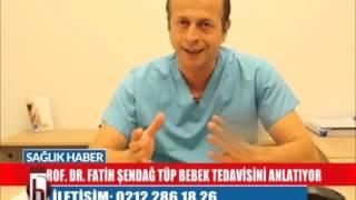 Tüp Bebek :  Gülgün Feymanla Sağlık Haber - Prof Dr Fatih Şendağ