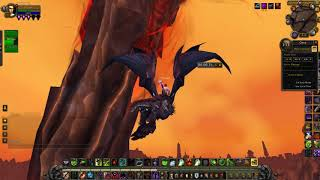 The wound in Silithus. Sargeras Sword is MASSIVE! Interesting lore to come!