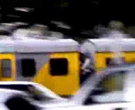 """Cape Town Metro Rail """"Train Surfing"""""""