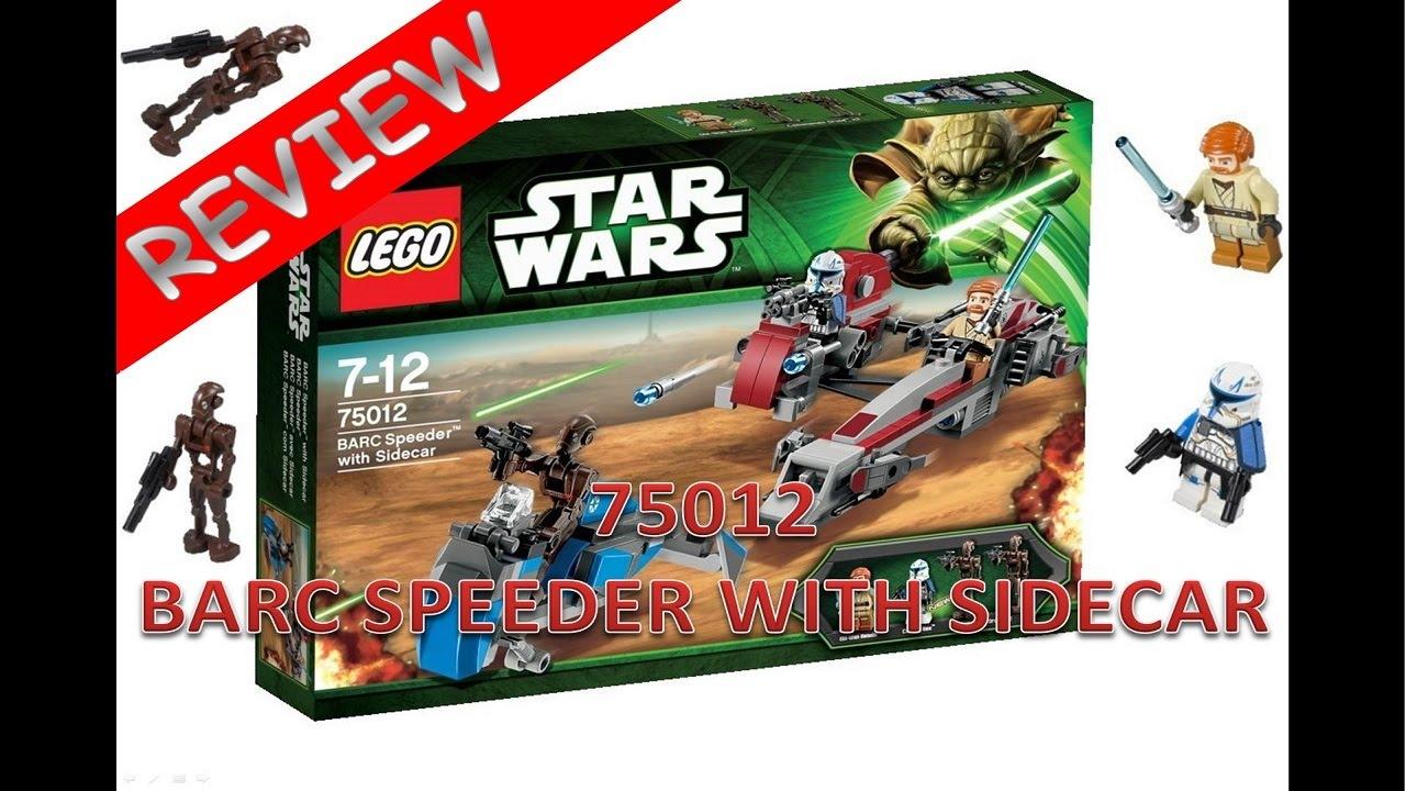 lego star wars review du barc speeder rf n75012 fr