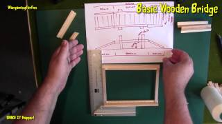 Basic Wooden Bridge Pt 2 - Wargaming Terrain - MAKE IT Happen