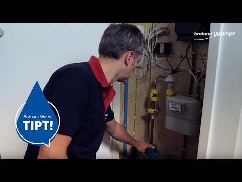 watermeter vochtig: condens of lekkage?