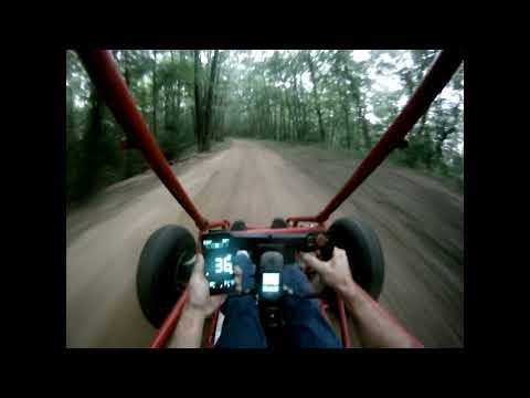Predator 420 stage 1 buggy top speed Test  7 4:1 gear ratio