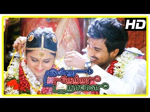 Indru Netru Naalai Movie Climax   Vishnu and Mia get married   End Credits