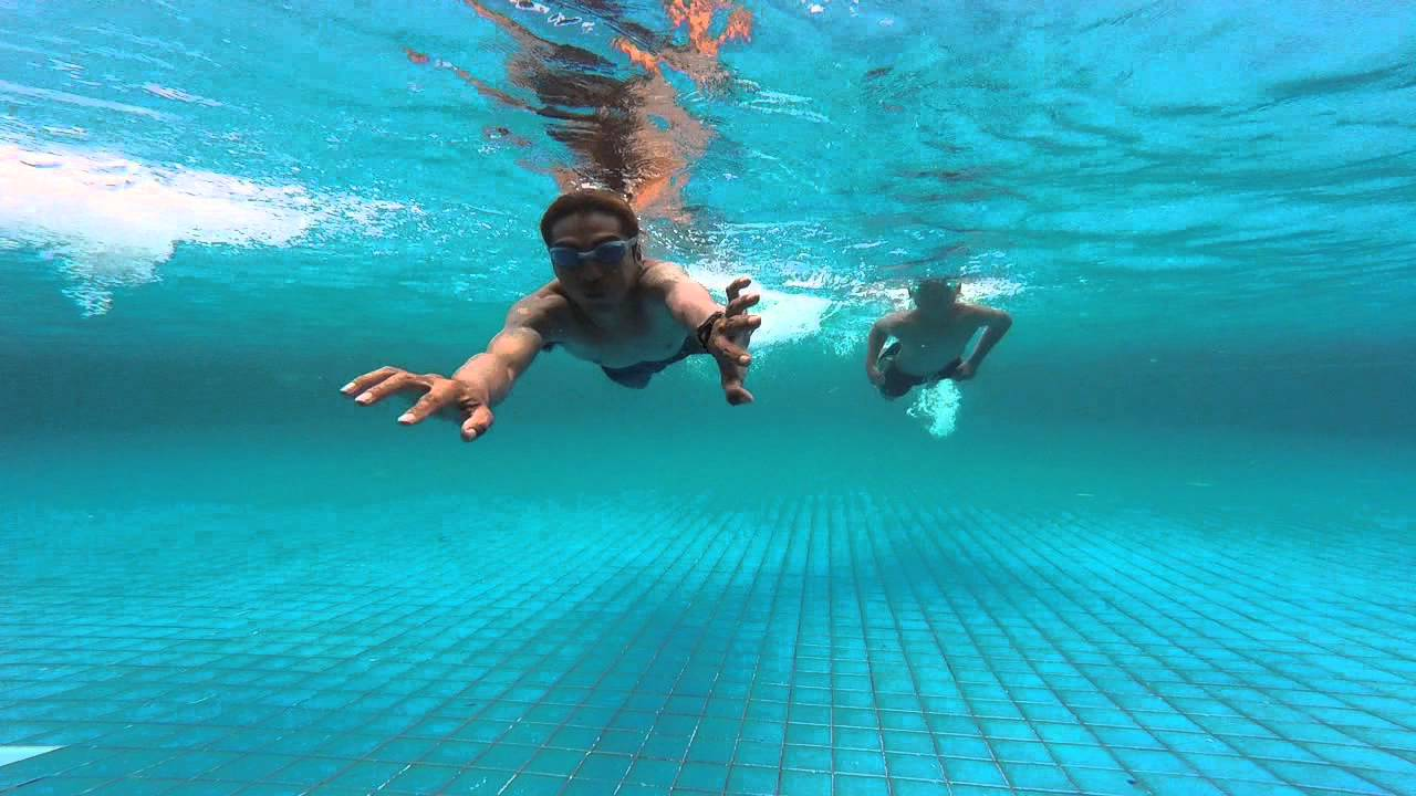 Go Pro Hero 4 Session Underwater Test