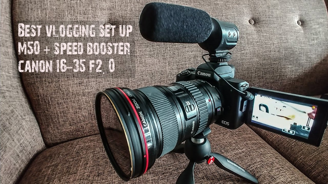 speed booster for canon m50