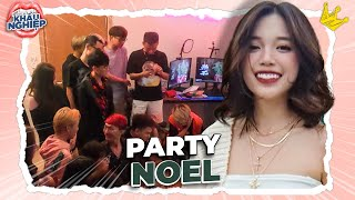 What gifts did Linh receive at the chaotic Christmas party with his friends? | LIKE EXPORTING