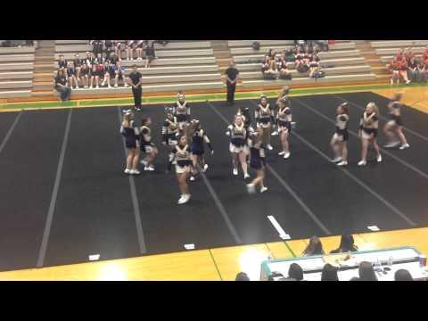 Stayton high school cheer 4A 2015
