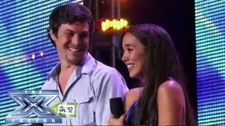 "Alex & Sierra - Sultry Cover of Britney Spears' ""Toxic"" - THE X FACTOR USA 2013"
