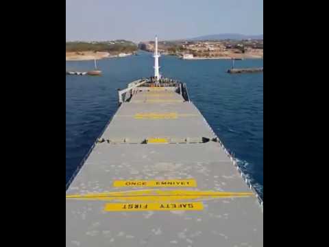 Sailing through Corinth Canal ❤️❤️