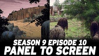 The Walking Dead Season 9 Episode 10 vs The Comics