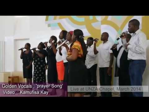 Golden Vocals Zambia Singing Prayer Song Live