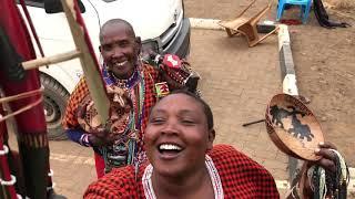 Taniej niż w Biedronce... mama Masai - okolice Amboseli - Kenia - Afryka