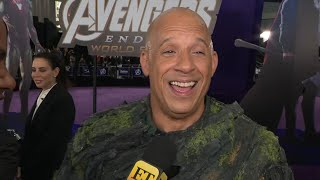 Avengers: Endgame Premiere: Vin Diesel FULL INTERVIEW (Exclusive)