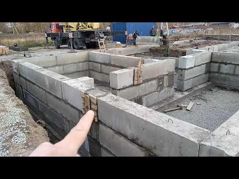 Строительство цокольного этажа - Новосибирск, Квартал 4 (ФУНДАМЕНТМОНТАЖ.РФ)