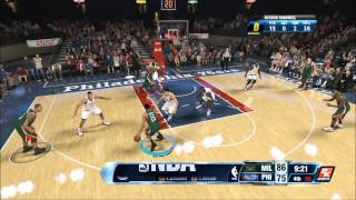 THIS IS PERSONAL - NBA 2K14 (PS4) - My Career - Octavio Chadwell - Bucks vs 76ers