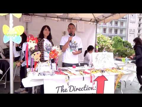 Arts and Crafts at Taiwanese American Cultural Festival 台灣文化節2016 SF