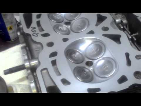 Теория ДВС. сборка ГБЦ subaru forester ej255 turbo 2009 г