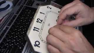Как починить старые настенные часы ОЧЗ Янтарь(, 2014-09-01T23:00:08.000Z)