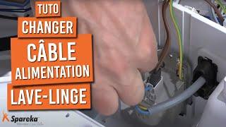 Changer Câble Alimentation Lave Linge