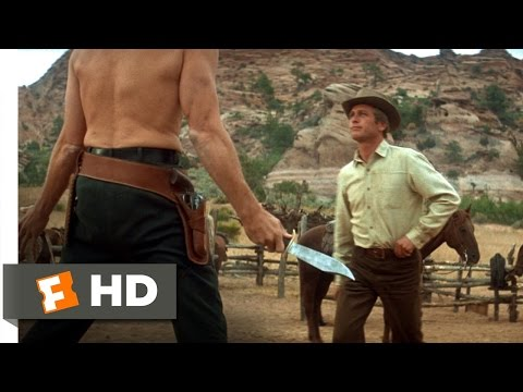 Butch Cassidy and the Sundance Kid 1969  Knife Fight  15  Movies